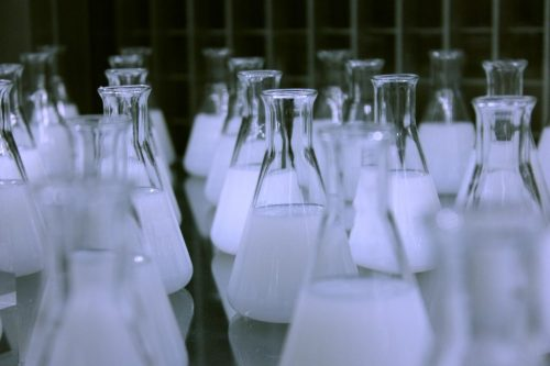 Canva Flasks Erlenmeyer Chemistry Laboratory Science scaled