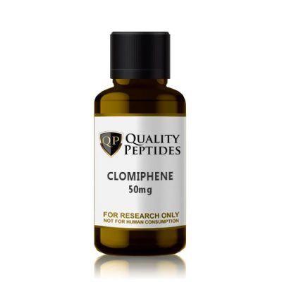 Clomiphene Citrate 50mg Quality Peptides Research Chemicals