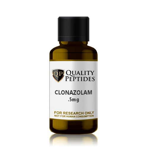Clonazolam .5mg Quality Peptides Research Chemicals