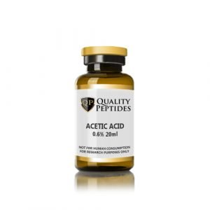Quality Peptides acetic acid 0.6 20ml
