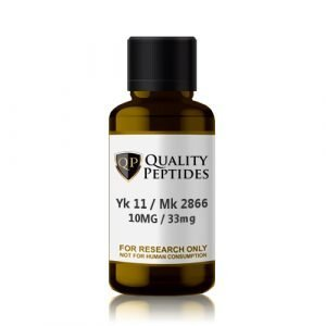 Yk 11 10mg Mk 2866 33mg Quality Peptides Research Chemicals